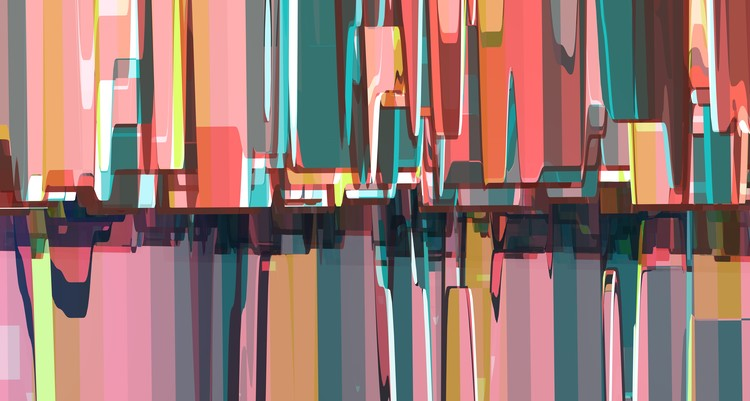 Abstract Composition 731