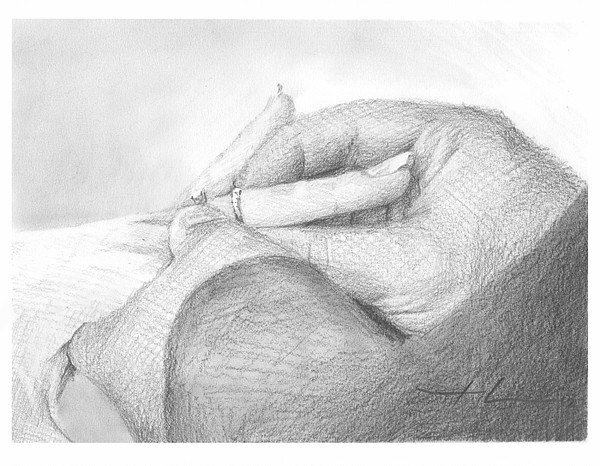 wedding ring drawing mike theuer