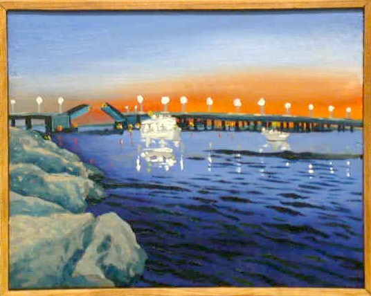 Inlet Bridge, Evening - Ocean City MD