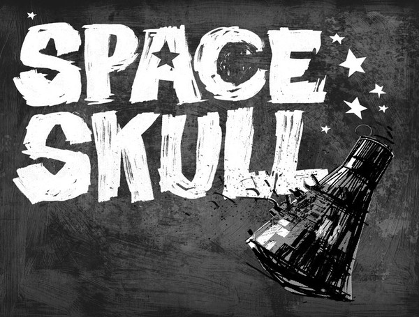 SPACE SKULL page 4-5 spread
