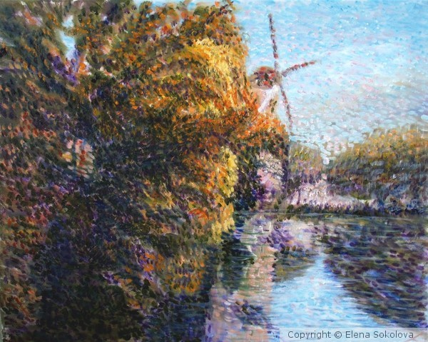 Autumn in Schiedam