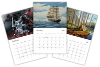 Create and Sell Your Own 2019 Wall Calendar!