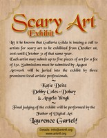 Call to Artists Scary Art