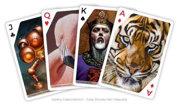 Artist Playing Card Project Updates
