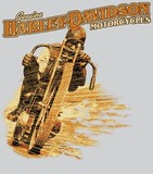 VINTAGE RACER--HARLEY-DAVIDSON