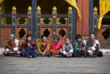 Waiting for the Festival to start. Paro