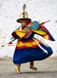 Paro Festival Day 2, Black Hat Dance No. 2
