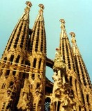 Sagrada Familia, Barcelona, Spain, 1994