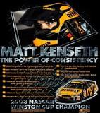 MATT KENSETH CHAMPION BACK