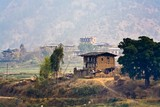 Farm House in the Punakha Valley