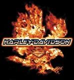 FLAMING EAGLE-HARLEY-DAVIDSON