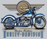 VINTAGE--HARLEY-DAVIDSON
