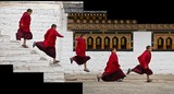 Young Monk Running Series