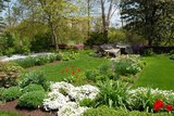 Knot Garden in Spring