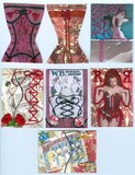 Corset Series ATCs