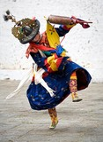 Paro Festival Day 2, Black Hat Dance No.1