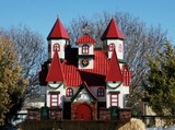 Replica of Santa's Home