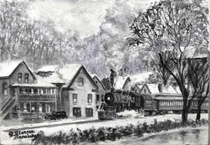 Whitefield New Hampshire No. 4 Black & White