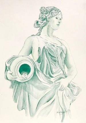 Juturna, Goddess of Fountains