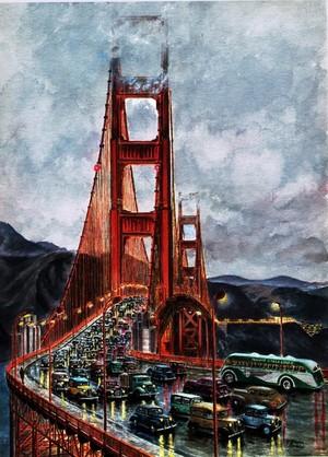 San Francisco/ The Golden Gate Bridge