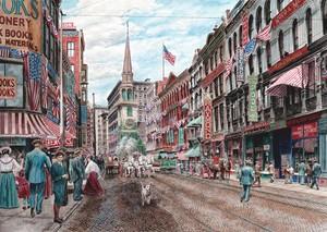 Four Alarm fourth of July/Boston; ca. 1906