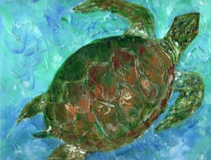 Tybee Sea Turtle