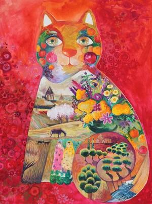 red Armenia cat