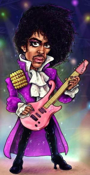 Prince - Caricature Art