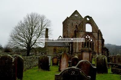 Sweetheart Abbey Cemetery Dumfries, Scotland