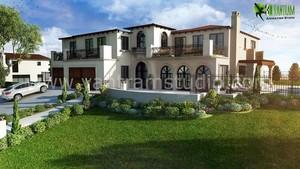 3D Exterior Villa Design