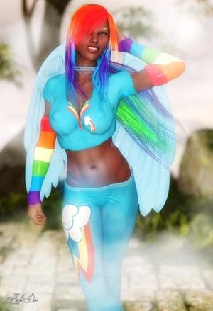 Rainbow Dash (Genesis 3 Remake)