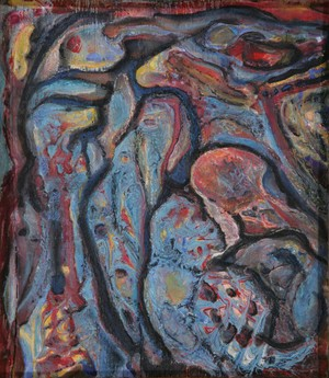 abstract -Mythical spirit,dark