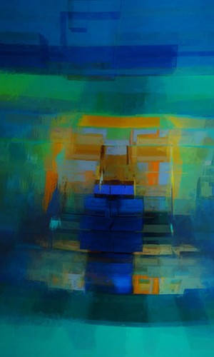 Abstract composition 200