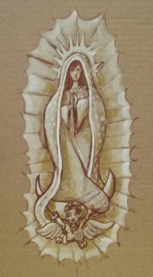 Virgen De Guadalupe Study