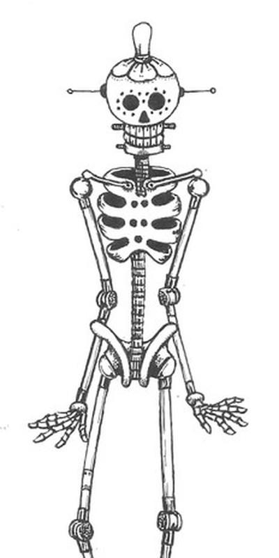 SSkeleton Robot