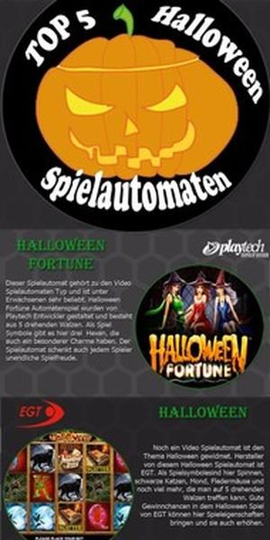 Halloween Spiele Infografik