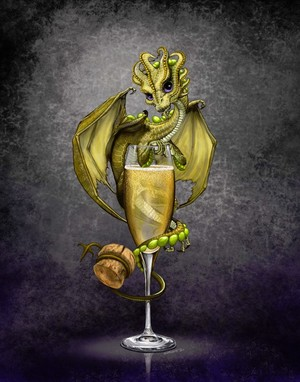 Champagne Dragon