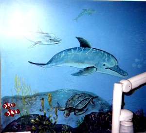 Sea murals