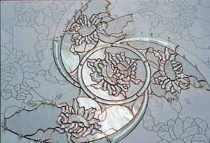 Central Spirit Of Sunflower Mandala Begins To Take