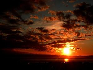 Dark Glow of Sunset