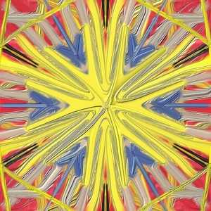 abstract yellow color lines