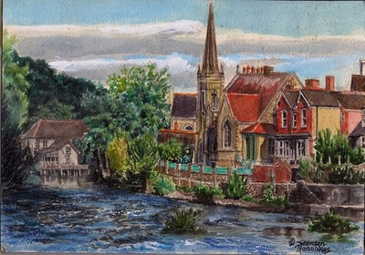 Llangollen Wales:The Llangollen Methodist Church