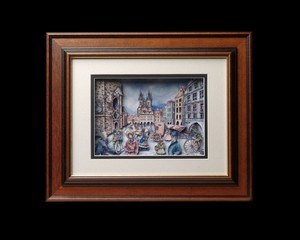 Handmade 3D Picture: The Old Prague