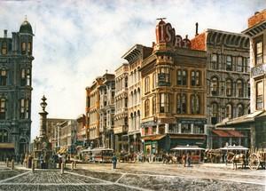 San Francisco/ Lotta's Fountain ca.1891