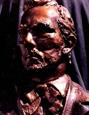 Jesse James plaster bust study