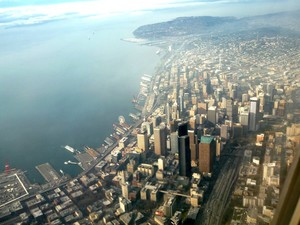 Bird's Eye View of Seattle