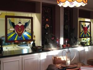 Heart Wings & Sunrays Sufi Mandala