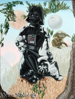 Portrait of George Lucas