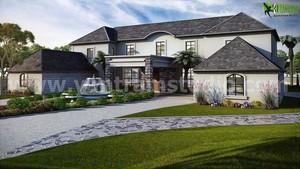Stylish Exterior Single House
