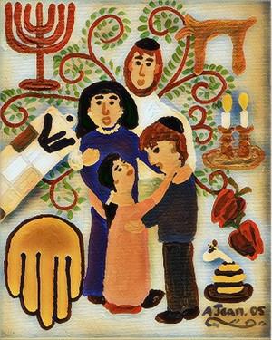 Blessing the Children on Shabbat Digital #2